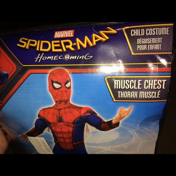 ac4d818e9be3 Spider-Man Homecoming Costume boys NWT